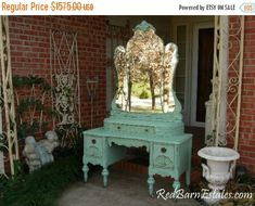 FLASH SALE CUSTOM Vanity Order An Antique Dresser Shabby Chic Painted Distressed Restored Bedroom Bathroom Furniture Nationwide Shipping