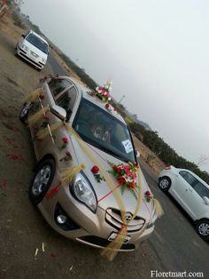 Beautifull car decotaion ahmedabad httpfloretmart wedding car decorations wedding cars httpfloretmart junglespirit Image collections