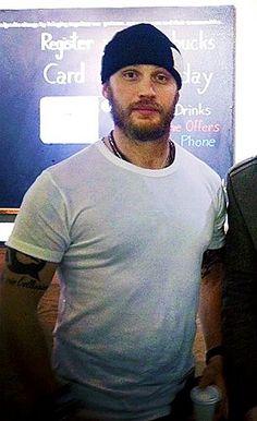 Tom: just the right amounts of scruffy and sexy... Mmmmmmmmm!