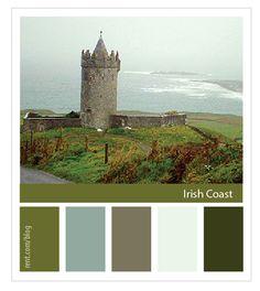 Destination Inspiration Color Palette: Irish Coast [Rent.com Blog]
