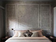 parede-de-concreto-com-moldura-branca.jpg (664×498)
