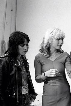 Debbie Harry blondie Joan jett