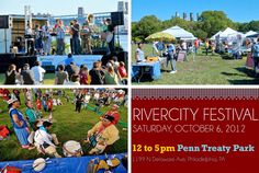 #Fishtown RiverCity Festival, Sat, Oct 6 12:00 pm - 5:00 pm. 5K run, live music, local vendors to name a few. #SEPTA Routes: 43, Market-Frankford Line, Trolley Lines 15, 15B