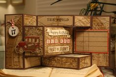 Enjoy the Journey by Scrapcollectr57 - Cards and Paper Crafts at Splitcoaststampers