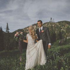 beaded modest wedding dress with soft skirt from alta moda bridal #EarForMusic #AllThingsMusic