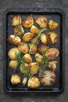 Roast Potatoes recipe by Raymond Blanc
