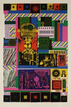 Sir Eduardo Paolozzi 'Conjectures to Identity', 1963–4 © The estate of Eduardo Paolozzi