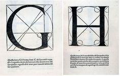 Pacioli's alphabet | Italian Ways