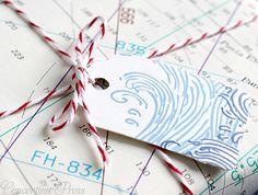 nautical gift packaging