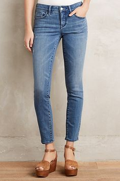 Pilcro Stet Ankle Jeans #anthropologie