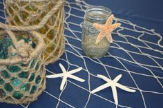 Nautical Table Decor by Paper & Plumes Events!