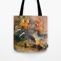 Tango Tote Bag by JKdizajn - $22.00