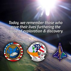 Today we pay tribute to the crews of Apollo 1 and space shuttles Challenger and . Challenger Space, Space Shuttle Challenger, 30 Year Anniversary, Apollo 1, President Ronald Reagan, Nasa Astronauts, Earth From Space, We Remember, Mars