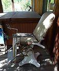 Antique Dental Chair Vintage Iron Chrome - ANTIQUE, Chair, CHROME, Dental, IRON, Vintage