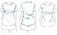 Clothes reference inspiration to draw 59 ideas Drawing Reference Poses, Drawing Skills, Design Reference, Drawing Tips, Drawing Sketches, Drawings, Manga Clothes, Drawing Clothes, How To Draw Clothes