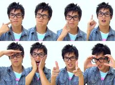 Wesley Chan from Wong Fu Productions. I'm so late, but he's adorable.