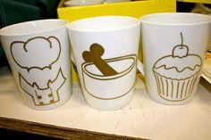 Serigrafia en tazas