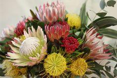 protea arrangement #protea