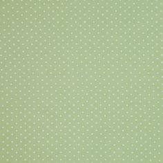 verde com poá pequeno branco - PVBPP - Panoah