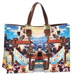 Mary Katrantzou for Longchamp. An expensive-looking bag that isn't TOO pricey.