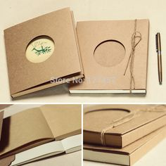 notebook  Grootte: 190x175x14mm $