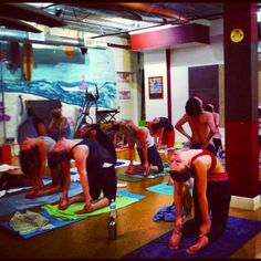 Camel pose at the Yoga Energy Studio #yoga