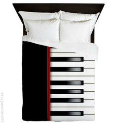 Piano duvet