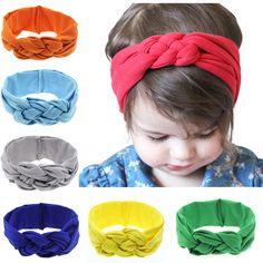 Solid Dots Pattern Headbands Cute Newborn Bow Knots Rabbit Ears Elastic Wave Point Headbands Bands Accesorios Para El Pelo 2018 Bright In Colour Girls' Clothing
