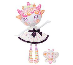 Lalaloopsy Color Me Doll with Color Me Pet