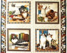 Fabri-Quilt 'Four Paws' Bildgröße 110 cm x 90 cm kt-018-07-8053 https://planet-patchwork.de/de/article/kp/29002/2/