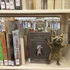 #WheresRory? In the Anchorage Alaska Library stacks!