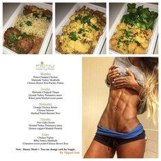Athlete & model fit4u @vanessa_mmm is not Diet is a lifestyle  New menú!!  Don't forget to make your orders by today in order to start next week stress free and ready to start seeing results!  Without healthy eating habits results will be hard to achieve and @fit4u_healthyfood makes it easy.   Check out www.Fit4uhealthy.com to order or 7867122821 migue  #mealprep #food #nutrition #personaltrainer #miami #shredz #fit4u #shredzarmy #shredztrainer #eatcleantraindirty #noexcuses #fitgirl…