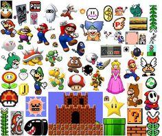 Super Mario printables
