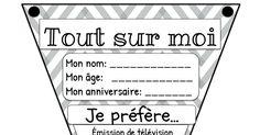 tout sur moi drapeau.pdf Languages Online, Foreign Languages, School Icebreakers, French Class, Classroom Language, French Language, Curriculum, Vocabulary, Teaching