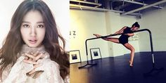 Park Shin Hye channels her inner black swan