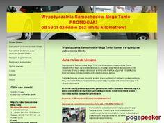 WWypożyczalnia samochodów w centrum - Katalog Stron - Najmocniejszy Polski Seo Katalog - Netbe http://netbe.pl/motoryzacja/wypozyczalnia,samochodow,w,centrum,s,7746/