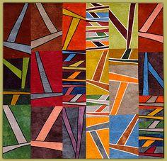 "Janet Steadman, fiber artist and quiltmaker - ""Breakaway"""