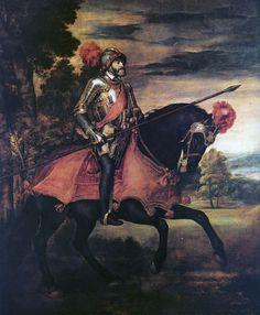 TIZIANO, ritratto di Carlo II