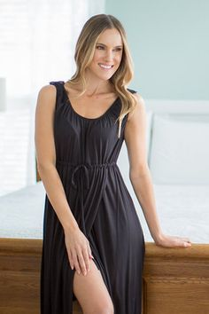 7430c1ffcb656 Simply Black 3 in 1 Labor / Delivery / Nursing Gown
