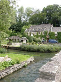 The gorgeous Cotswold village of Bibury, England