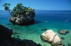 Beach Punta Rata Brela, Croatia