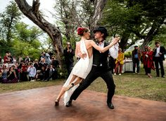 Patagonian Pairing: Sofía Sanchez Barrenechea and Alexandre de Betak's Wedding – Vogue - Anthony Vaccarello Custom Dress - Tango