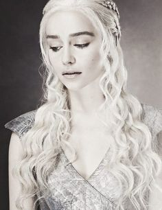Emilia Clark for Game of Thrones! My girl crush