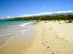 Hapuna Beach – Hawaii Island | Best Campgrounds in Hawaii | Hawaii Camping Guide - Best Outdoor Spots To Camp | http://survivallife.com/best-campgrounds-in-hawaii/