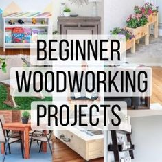 Here are 30 amazingly simple and easy beginner woodworking projects you can build today. Woodworking does not need to be intimidating. All of these small wood projects don't need fancy workshop or tools.