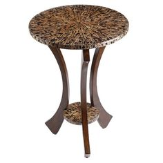 I pinned this Florus Accent Table from the Stein World event at Joss and Main!--Tables-Concept Candie Interiors
