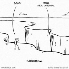 Sarchasm Spotted
