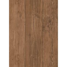 56 sq. ft. Natural Elements Wide Wooden Planks Wallpaper, Brown