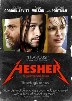 TJ (Devin Brochu) is dealing with his mother's death, a pill-popping dad (Rainn Wilson), a grandmother (Piper Laurie) succumbing to the pitfalls of old age, & his first-time crush (Natalie Portman). enter Hesher (Joseph Gordon-Levitt), a Jesus look-alike with offensive tattoos, whose anarchistic lifestyle scares, fascinates, & educates TJ on how to deal with the shit life throws at you. you'll laugh, you'll cry, then you'll laugh just as you start crying. outstanding performances by all.