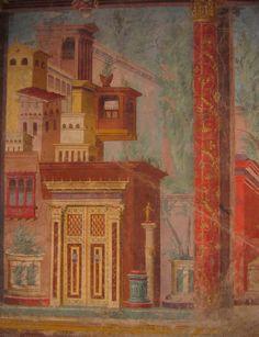Roman Frescoes from Pompeii